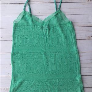 Mint green camisole 5 for $25